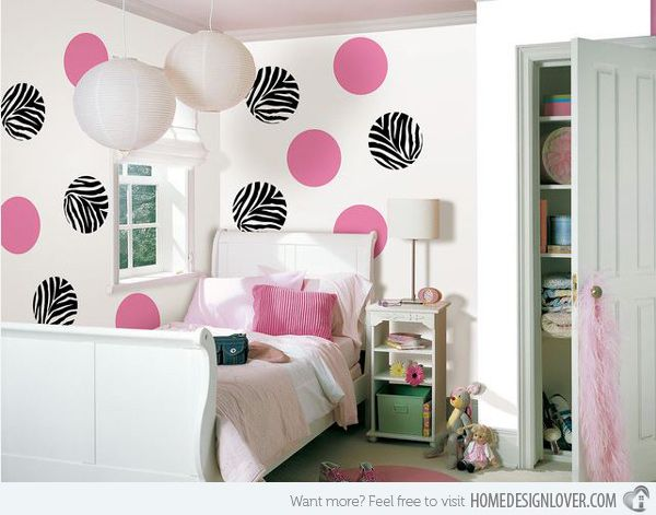 Best Zebra Print Teen Bedrooms Images On Pinterest Teen - Zebra stripe wall decals
