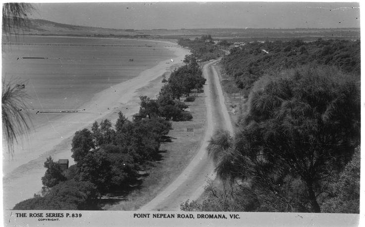 Point Nepean Road, Dromana, 1930s