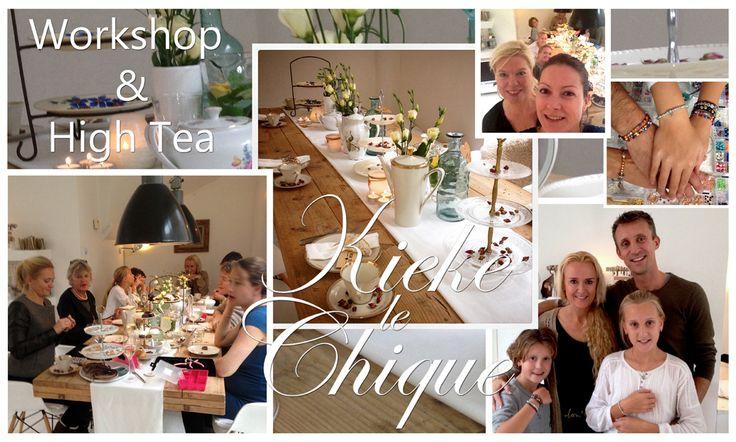 Kieke le Chique workshops sieraden maken en high tea voor het hele gezin #denhaag #thehague #familie #workshop #leukedingendoen #moeder #dochter #verjaardag #vrijgezellenfeest