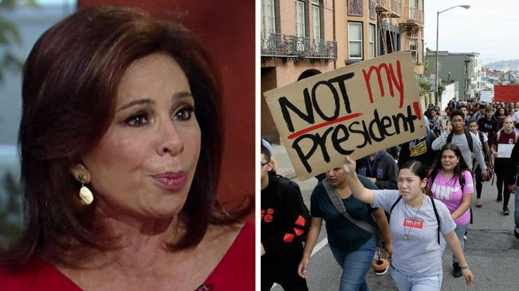 12/2/16 - The Democratic Party is refusing to accept what took place on Election Day and is risking its future as a party with its current leadership, Judge Jeanine Pirro said this morning.