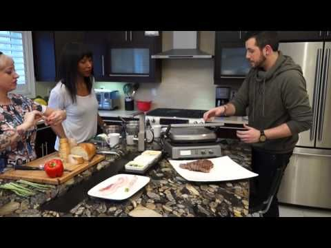 #CookingWithCuisinart - Episode 4 Griddler Deluxe - YouTube