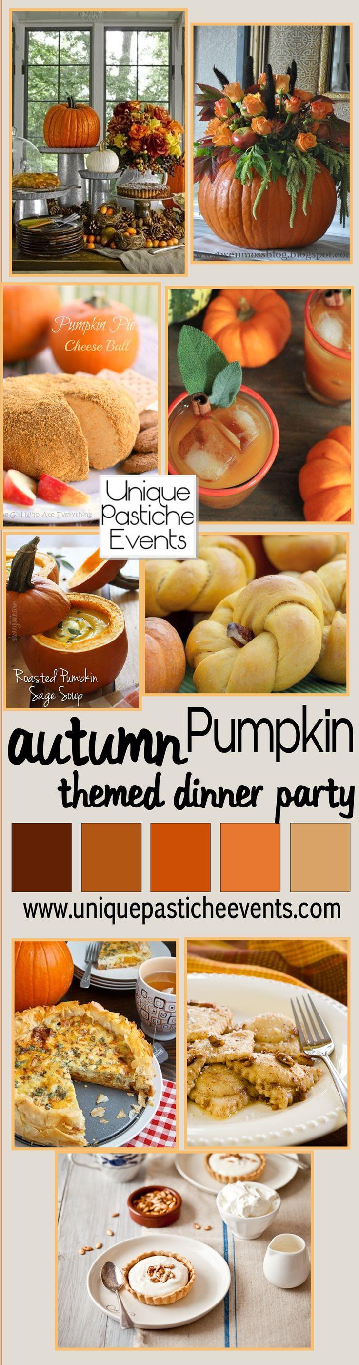 Pumpkin Themed Dinner Party Menu                                                                                                                                                                                 More