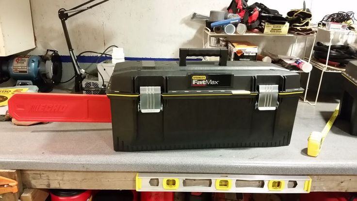 Picture of Toolbox into chainsaw case