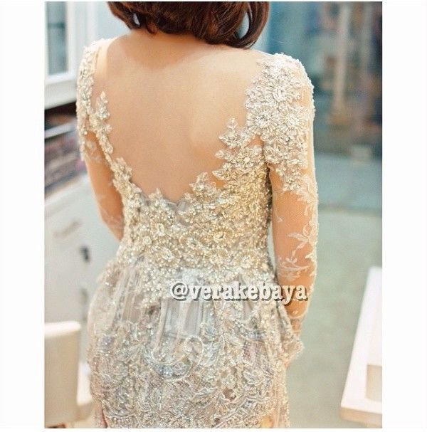 Sexy back kebaya #dress by vera kebaya