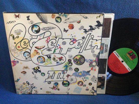 RARE Vintage Led Zeppelin  III Vinyl LP Record by sweetleafvinyl