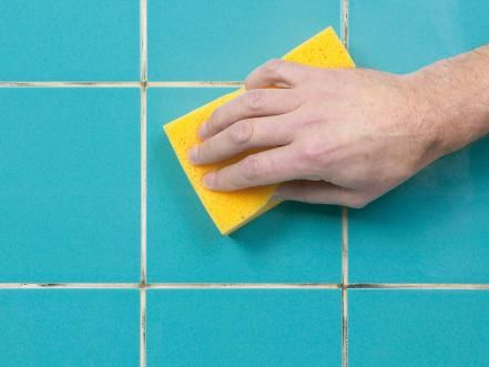Clean Surface (Reviving Tired Grout)