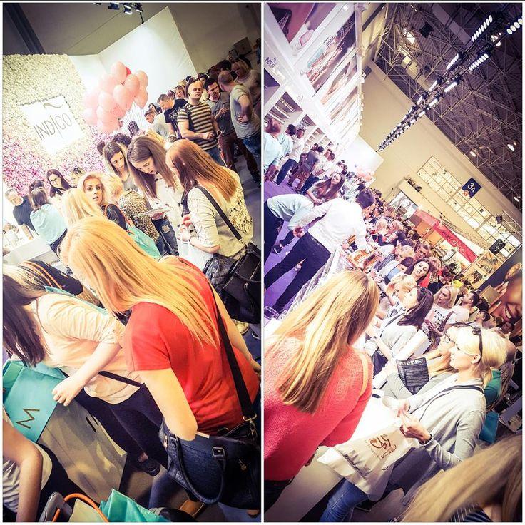 Targi Beauty Vision w Poznaniu #nails #nail #indigo #trade #fair #nailart #poznan #amazing #proud #beauty #vision
