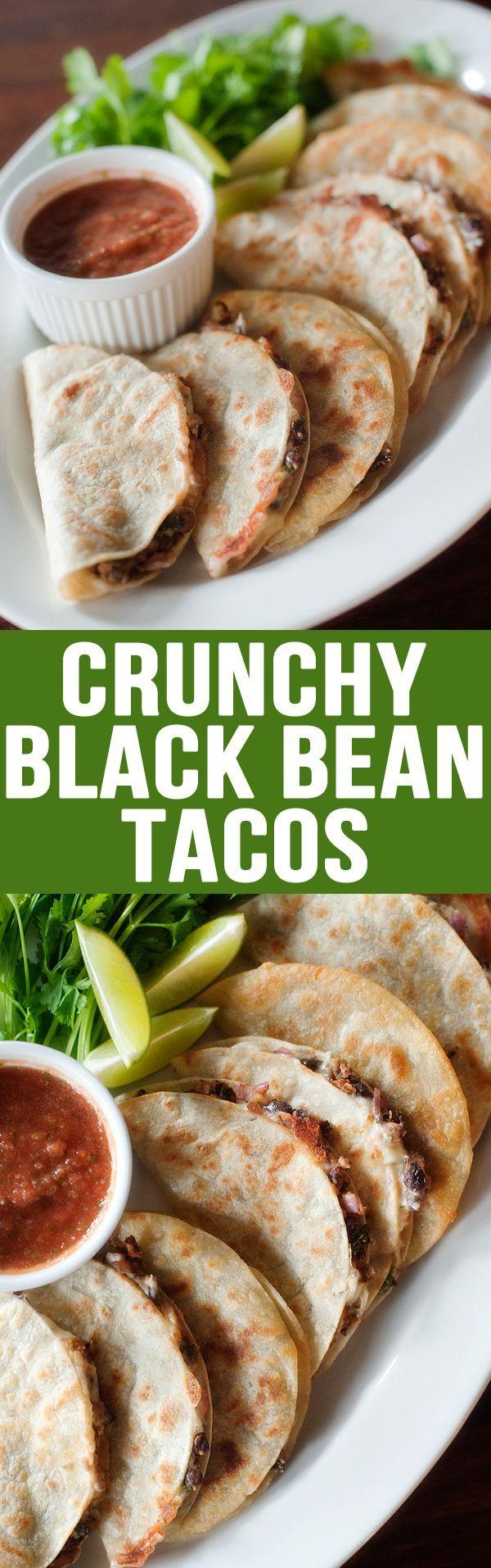 Becca thumbs up! Crunchy Black Bean Tacos