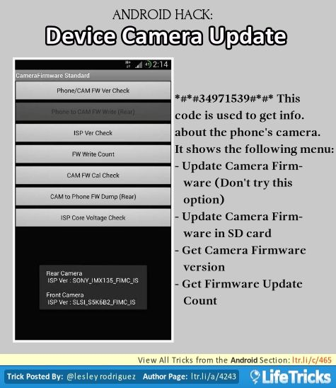 how to see phone temp android