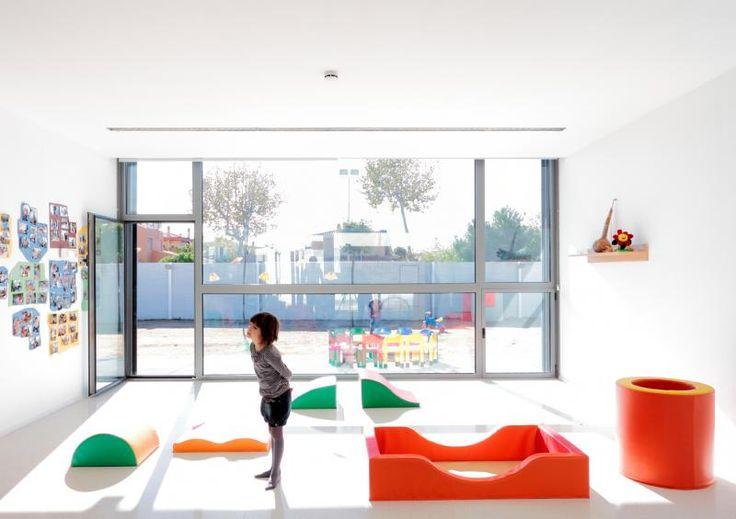 Jardin de infancia en Sant Pere Pescador - #GreenBuildingSolutionsAwards - Construction21