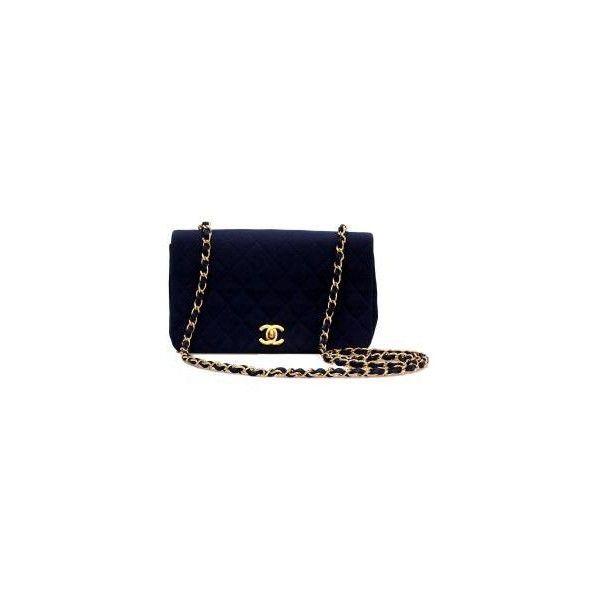 Chanel - 2.55 Darkblue - Leihen oder Mieten bei Fashionette.de ($1,805) ❤ liked on Polyvore featuring bags, handbags, bolsas, chanel, purses, borse, handbag purse, blue hand bag, blue bag and blue purse