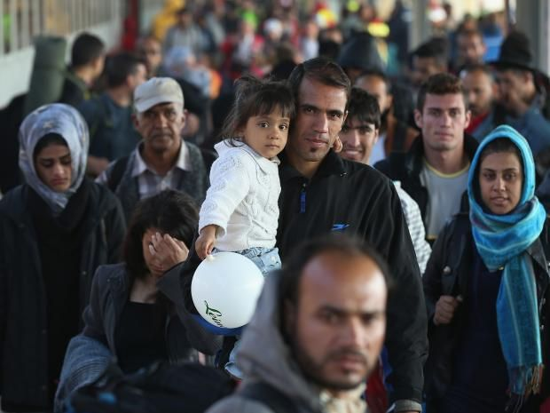 """More than 17,000 refugees in Germany have sued the government for not giving them full refugee status - and most have won. Since an attempted crackdown on the number of migrants coming to the country earlier this year more and more refugees are being given a qualified form of asylum called as """"subsidiary protection"""" from the Federal Office for Migration and Refugees (BAMF)."""