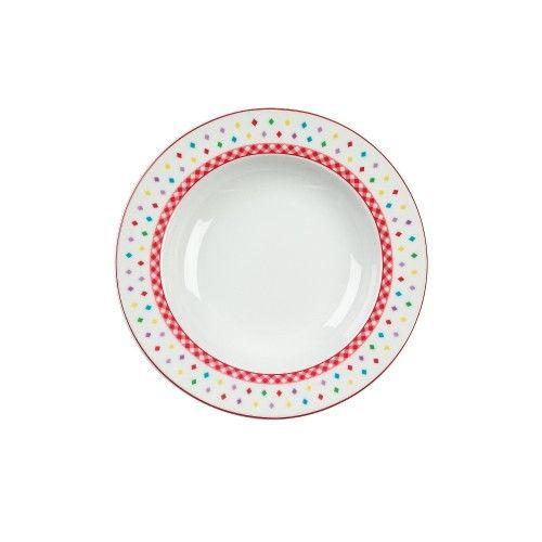 Piatto fondo cm 22 Materiale principale Porcellana