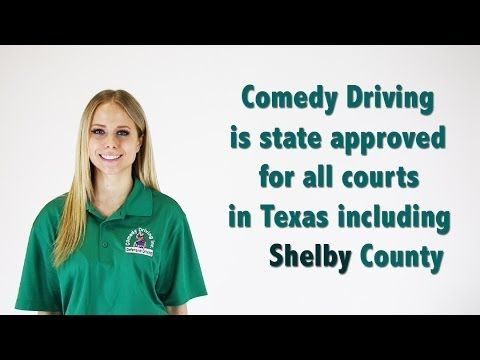 Shelby County Texas Defensive Driving | Comedy Driving Inc  #defensivedriving #defensivedrivingtexas #safedriving #safedrivingtexas #trafficschool #trafficschooltexas #followme #pinme  http://www.comedydriving.com/