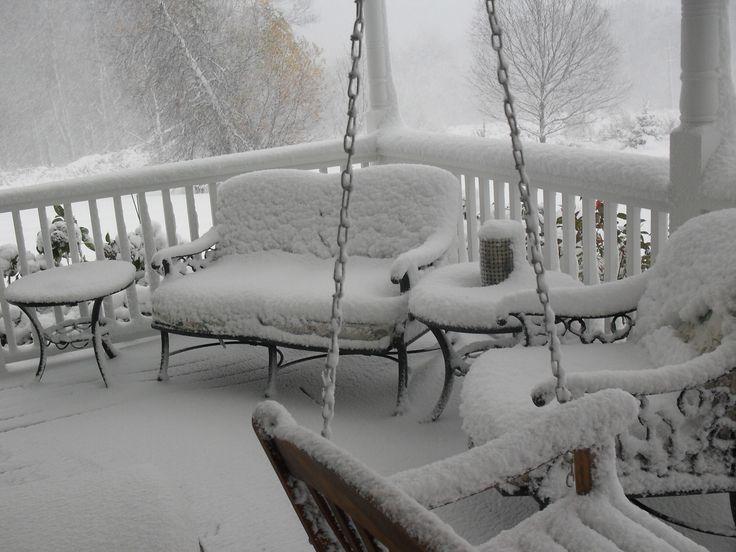 Snow, Connecticut, USA, Winter