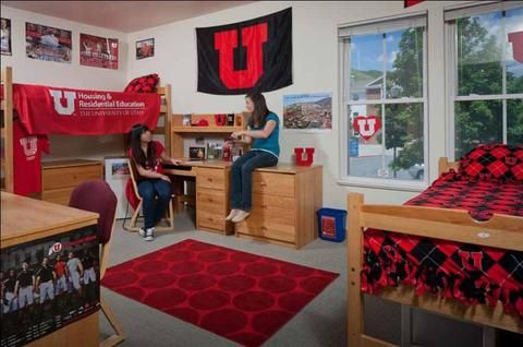 university of utah dorm desk | American Students' On-Campus Living Conditions