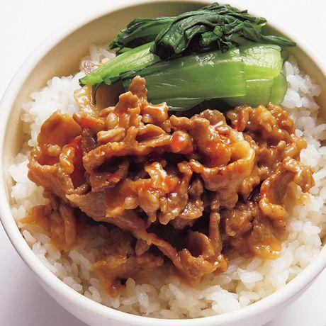 ごま担担しぐれ煮丼 | 瀬戸口しおりさんのどんぶりの料理レシピ | プロの簡単料理レシピはレタスクラブネット