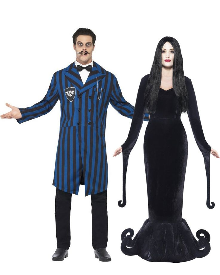 Costume di coppia da duca e duchessa gotici: ad Halloween o per una festa in maschera a tema, scopri quanto è ancor più bello condividere il divertimento con il tuo partner grazie a questo splendido travestimento da coppia gotica!