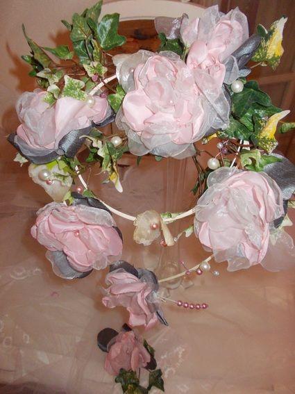 Bouquet de mariee vintage  campagne chic