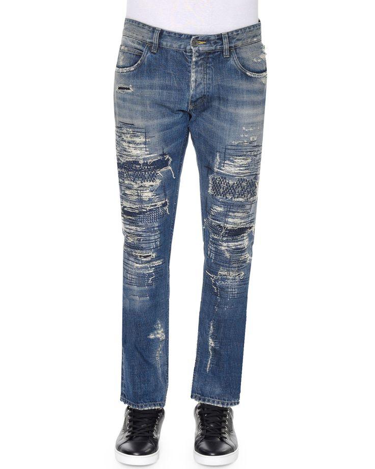 18 cm Stretch Denim Jeans Frühling/Sommer Prada