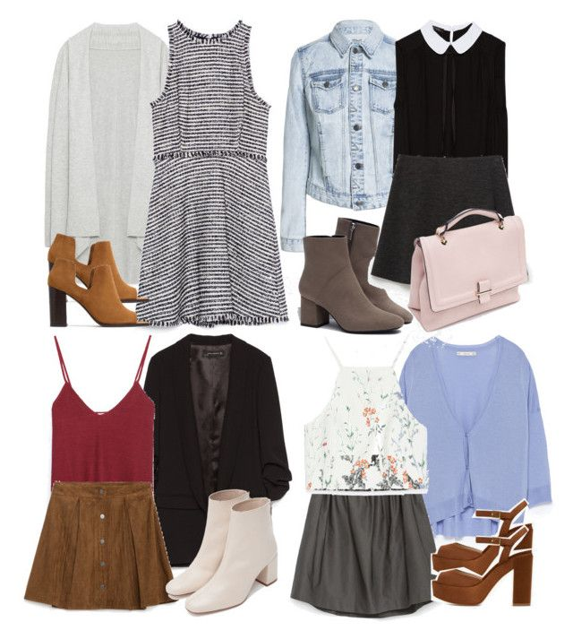 """Lydia Inspired Zara Outfits"" by veterization ❤ liked on Polyvore featuring Zara, women's clothing, women's fashion, women, female, woman, misses and juniors"