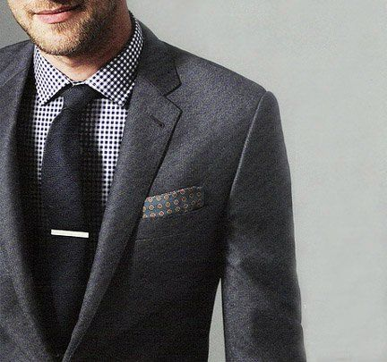 Nice Ludlow Suit Jacket by J.Crew. Pocket square is nice also. #style