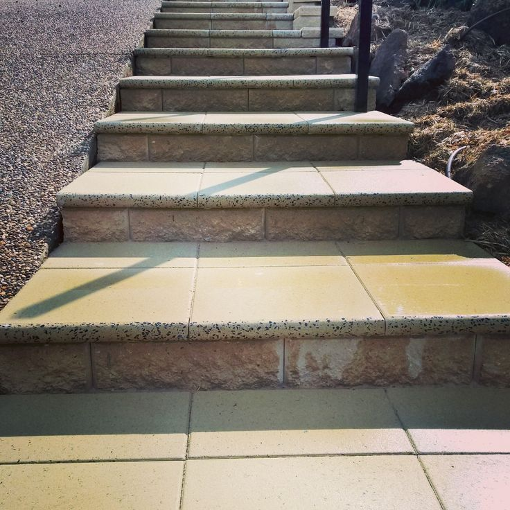 Paved steps by Keystone Landscapes Wagga