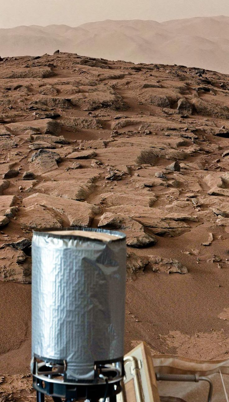 Mars Curiosity Rover mosaic of two MASTCAM LEFT images, looking north on sol 170