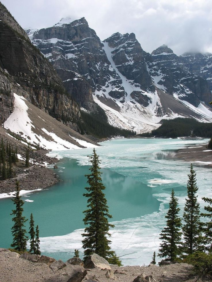 Banff National Park - Calgary, Alberta, Canada. Been here. It's breathtaking!