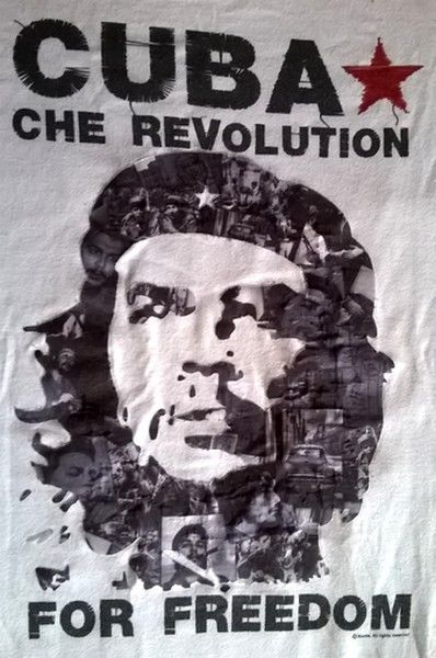 Collection Soul of Cuba  - T-Shirt - Che Guevara Cuba Che Révolution For Freedom