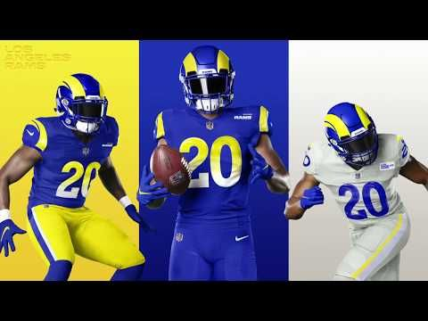 A New Era In Los Angeles The Future Gets Created Here Youtube In 2020 Nfl Uniforms Football League Football Uniforms