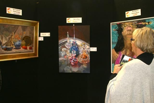 Camberwell #Rotary Art Show Photo: Gordon Cheyne
