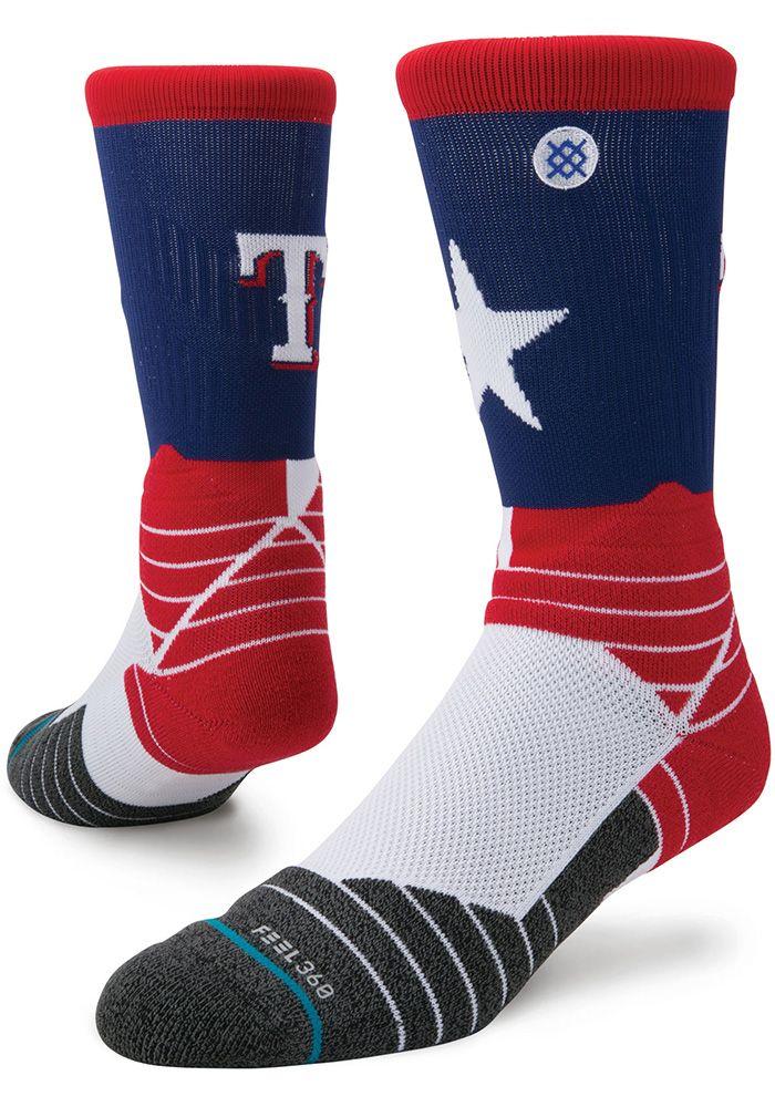 Texas Rangers Stance Diamond Pro Mens Crew Socks 5740279 Mens Crew Socks Texas Rangers Crew Socks