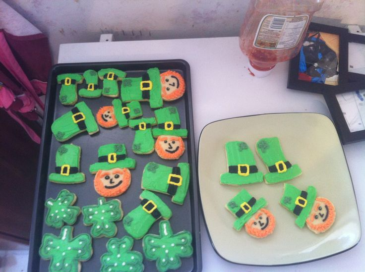 St. Patrick's day cookies 2015