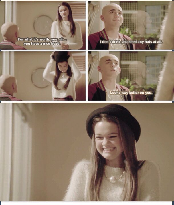 Emma and Leo, Red band society. (Via tumblr)  They're so beautiful together! Leo + Emma