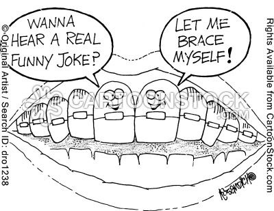 Oh, the dentist puns!   Smile with Feil Orthodontics! www.bismarckbraces.com