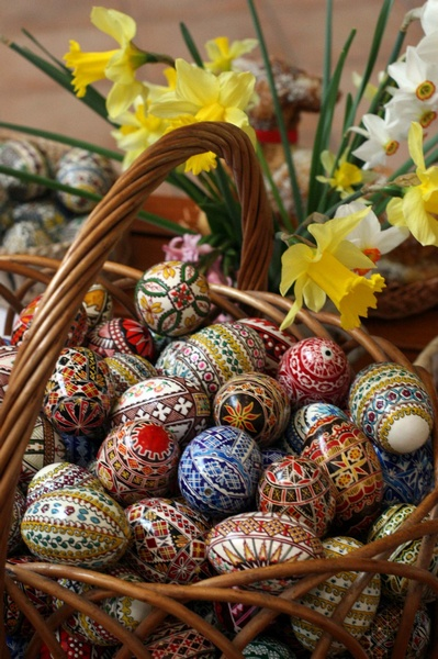 -Painted Eggs