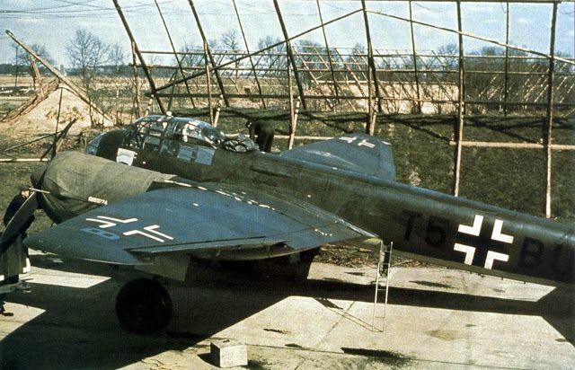 Junkers Ju 88 at Bad Zwischenahn Airfield World War II
