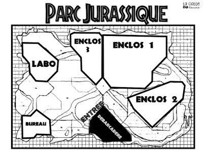 La classe de Karine: Situation-problème : Le parc jurassique