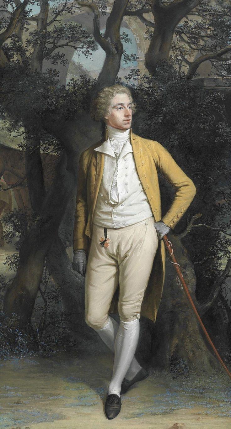 Hugh Douglas Hamilton, R.H.A., 1736-1801, Arthur Hill, 2nd Marquess of Downshire (1753-1801), 1785-90, pastel