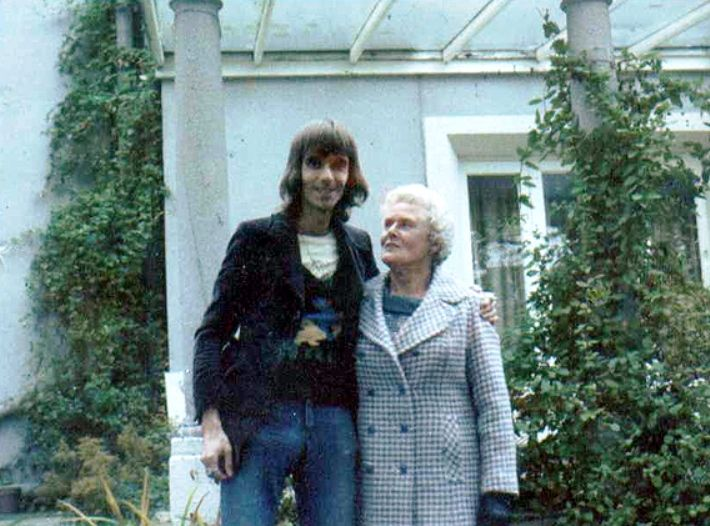 Nicky Hopkins with his Mother
