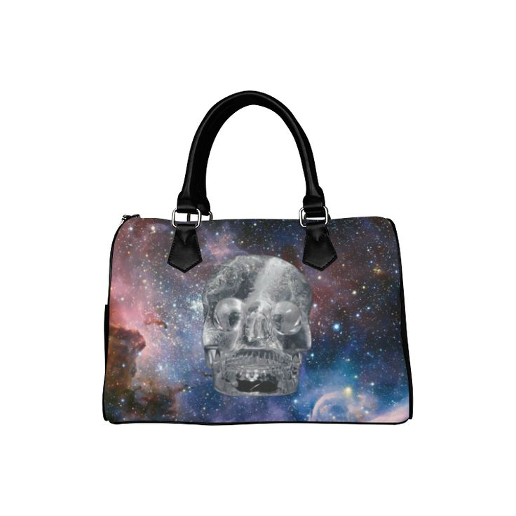 Crystall Skull Boston Handbag. FREE Shipping. #artsadd #bags #skulls