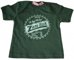 Keep a little South African heritage with these Kiddies T-Shirt which come in various infant, toddler & pre-school. Dark green t-shirt with white print details and dark green trimmings. Designed and manufactured in South Africa.