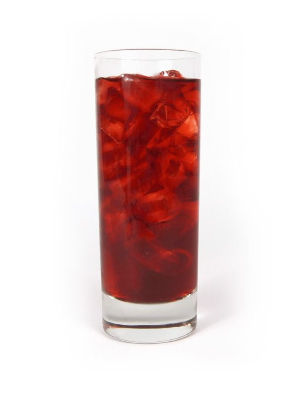 Roy Rogers - collins (10 oz) glass filled with ice - 1½ oz Snowfox - equal parts pomegranate juice and cola