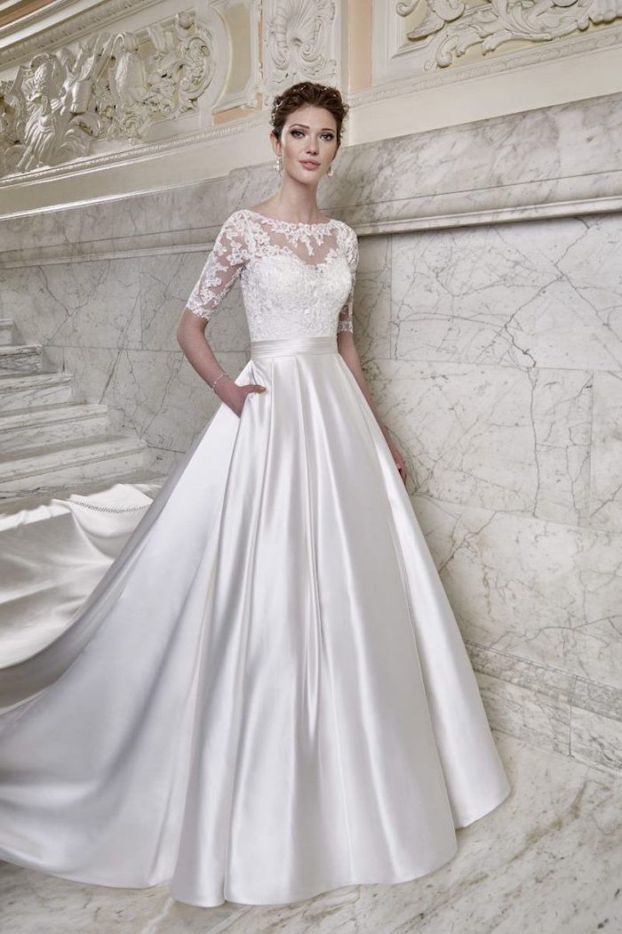 1001 Ideas For Gorgeous Long Sleeve Wedding Dresses With