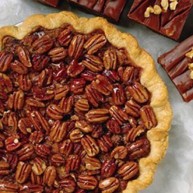 No Butter, No Corn Syrup Healthy Pecan Pie Recipe - 8 Amazingly Delicious and Healthy Pecan Recipes - Shape Magazine