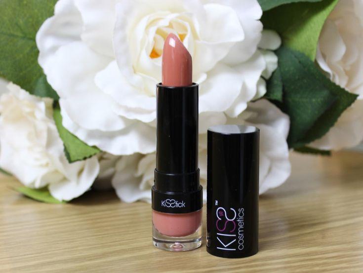 Anoushka Loves | *NEW BRAND ALERT* Kiss Cosmetics Lipstick in Birthday Suit | http://anoushkaloves.com