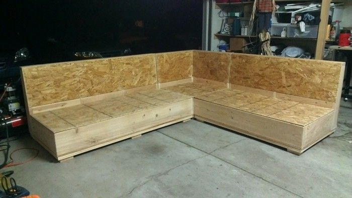 Aus Holz Ein Tolles Sofa Bauen Sofa Selber Bauen Couch Selber Bauen Gartenlounge Selber Bauen