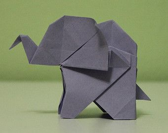 die besten 25 origami elefant ideen auf pinterest diy. Black Bedroom Furniture Sets. Home Design Ideas