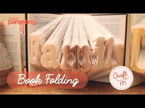 """Craft It! Book Folding - YouTube - two tutorials. One for a different repetitive fold and another for an """"illusion"""" effect heart. Location for the heart pattern is provided. To download the pattern I needed the Drop Box app. Viewing the pattern, if you already have a heart pattern, the technique shown could be used on any heart pattern and possibly others. Very interesting concept."""
